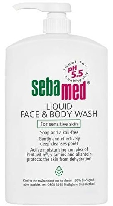 Sebamed Sebamed Liquid Face and Body Wash 1000ml Renksiz